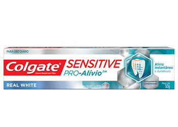 Creme Dental Colgate® SensitivePro-Alívio™ Real White